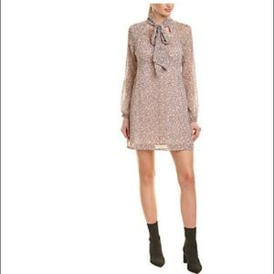 BCBG Pink Pattern Dress - Women's size M